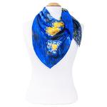 foulard femme en soie carré tableau nuit étoilée Van Gogh