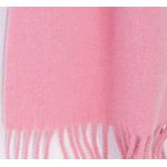 écharpe rose laine femme