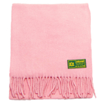 écharpe laine femme rose