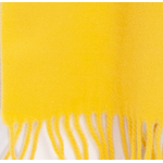 écharpe jaune laine femme
