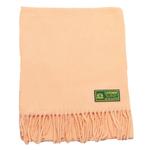 écharpe laine femme peche