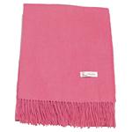 étole laine rose