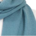 écharpe femme cachemire bleu gris
