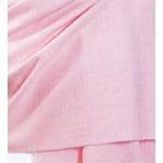 Etole femme rose cachemire laine