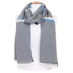 foulard homme coton noir losanges