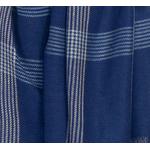 foulard chèche homme careaux bleu marine