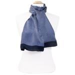 foulard homme soie gris Antoine