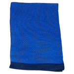 foulard en soie pour homme bleu roi Antoine