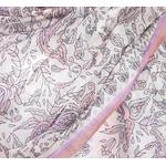 étole soie naturelle rose Nila