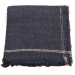 chale laine pour femme gris