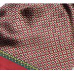 foulard en soie rouge homme lucas