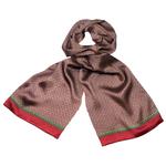 foulard soie homme rouge lucas