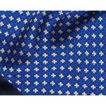 foulard en soie bleu homme louis