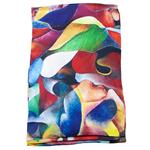 foulard soie multicolore écharpe femme Allisson