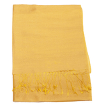 étole foulard soie viscose jaune