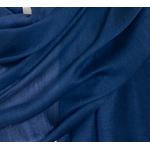 étole foulard bleu marine soie viscose