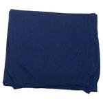 écharpe femme cachemire viscose bleu marine andréa
