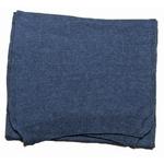 écharpe femme cachemire viscose bleu gris andréa
