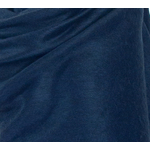étole alpaga bleu marine