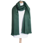 chale vert laine alpaga etole femme