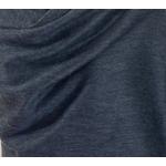 étole alpaga gris