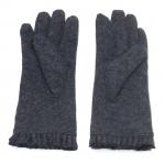 gants laine noeud ruban GRIS GL30 2