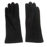 gants laine brodés chocolat GL25 2