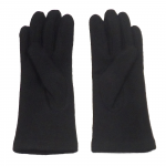 gants laine brodés noir GL28 2