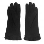 gants laine noeud ruban NOIR GL33 2