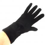 gants laine brodés noir GL28 3