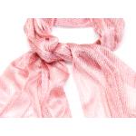 foulard écharpe maille résille lurex ROSE EF47 4