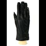 gants femme cuir noir nervures HA 40 1