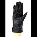 gant femme cuir noir noeud coté HA39 3