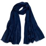 foulard chèche lin mixte bleu marine CHEM-FAN 12 1_modifié-1