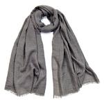 foulard chèche lin mixte gris  CHEM-FAN 09 2_modifié-1