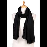 foulard chèche lin mixte noir CHEM-FAN 04 1_modifié-1