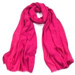 foulard chèche lin mixte rose fushia CHEM-FAN 06 12_modifié-1