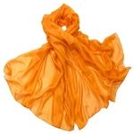 etole-en-soie-orange-uni-min