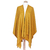 poncho jaune mourade très chic