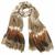 foulard cheche beige tie and dye