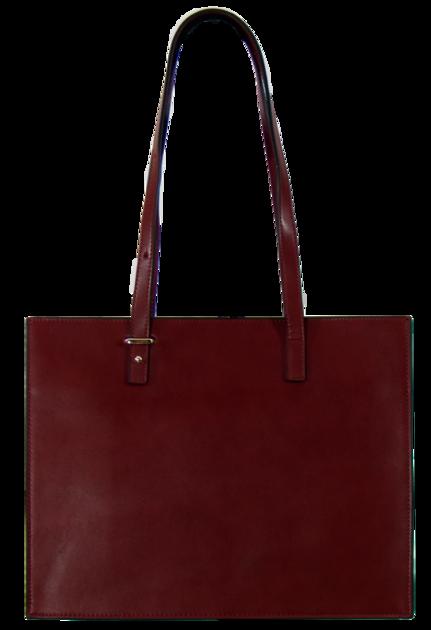 sac cabas cuir bordeaux SAC-FAN 163420 2  3