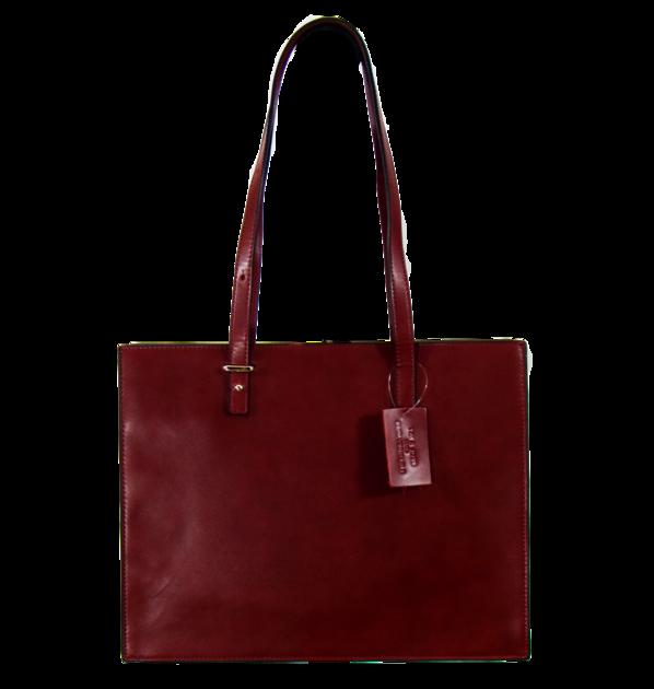 sac cabas cuir bordeaux SAC-FAN 163420 2  4 - Copie
