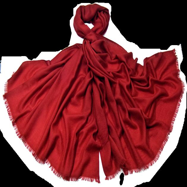 étole en laine fine rouge bordeaux premium ETLFP-FAN 14 1
