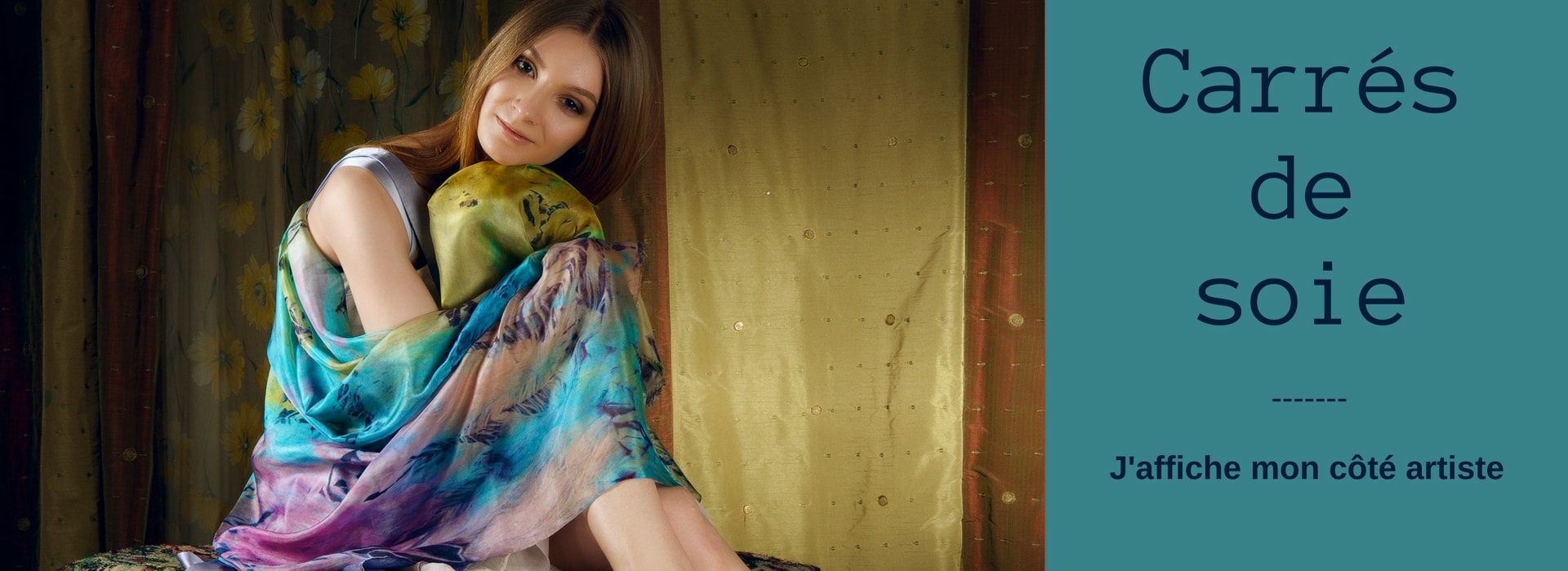 foulard carre de soie