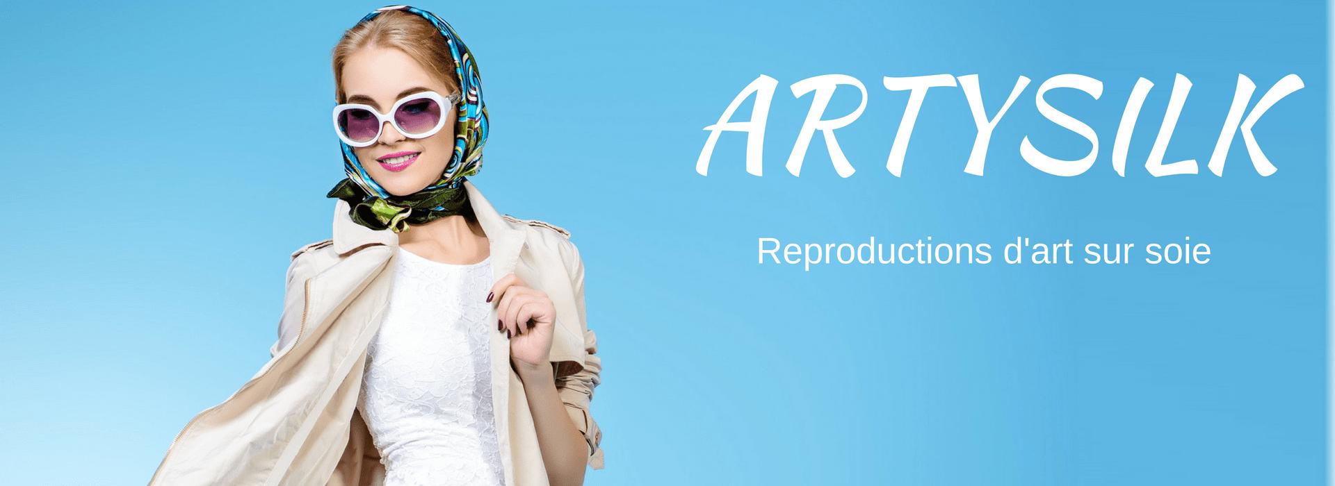 reproduction de tableaux foulards