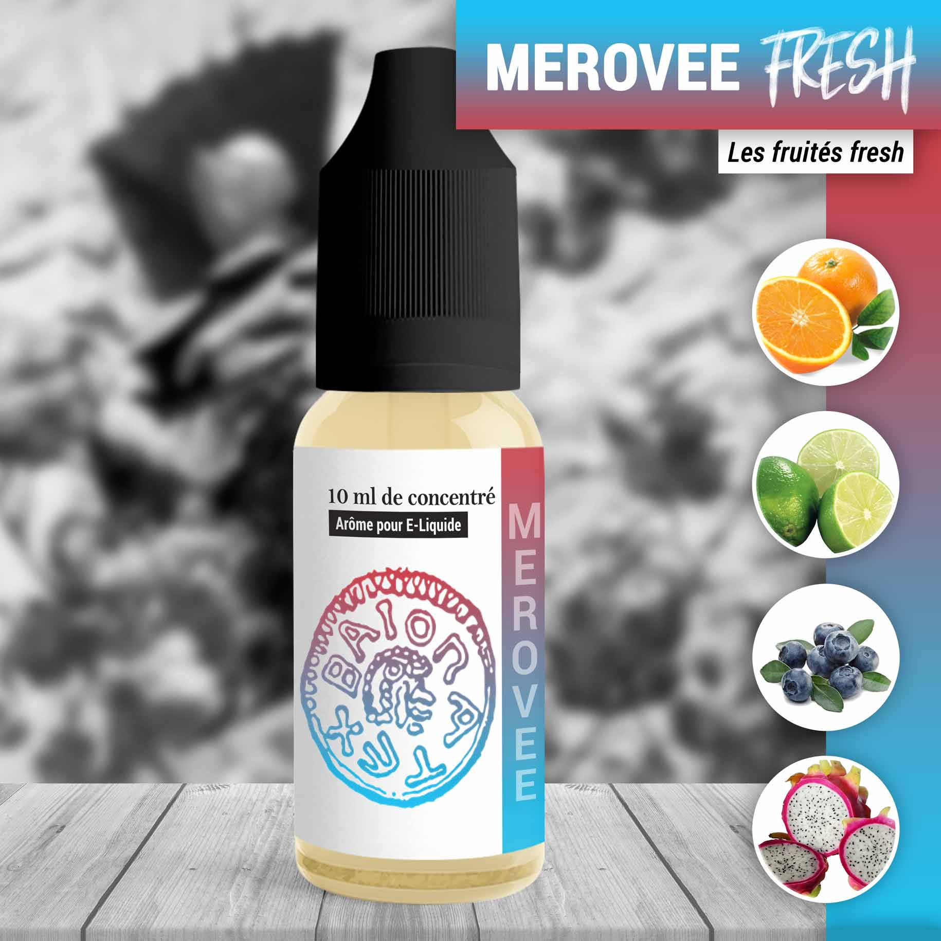 Concentré Mérovée fresh 10ml