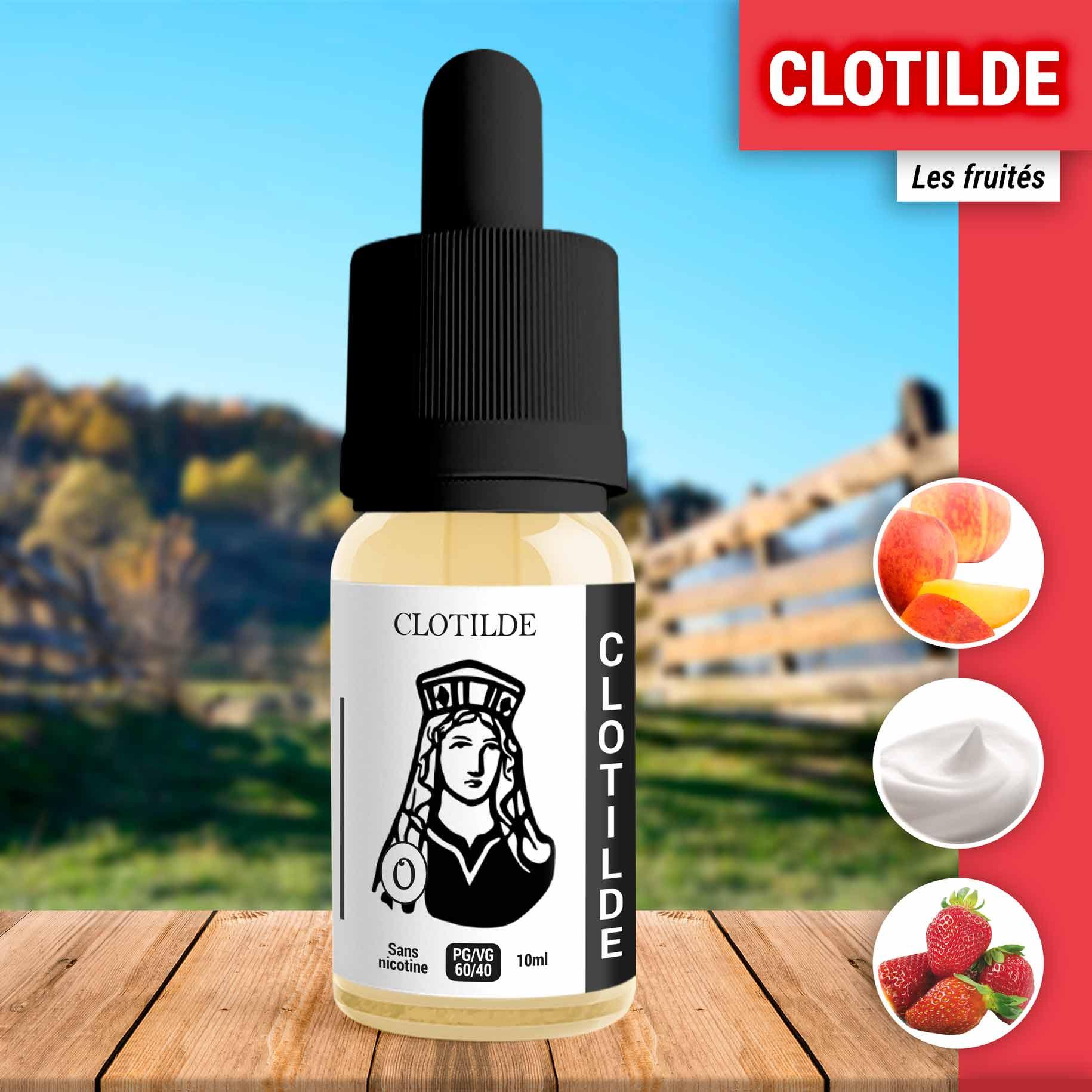 E-liquide Clotilde 10ml