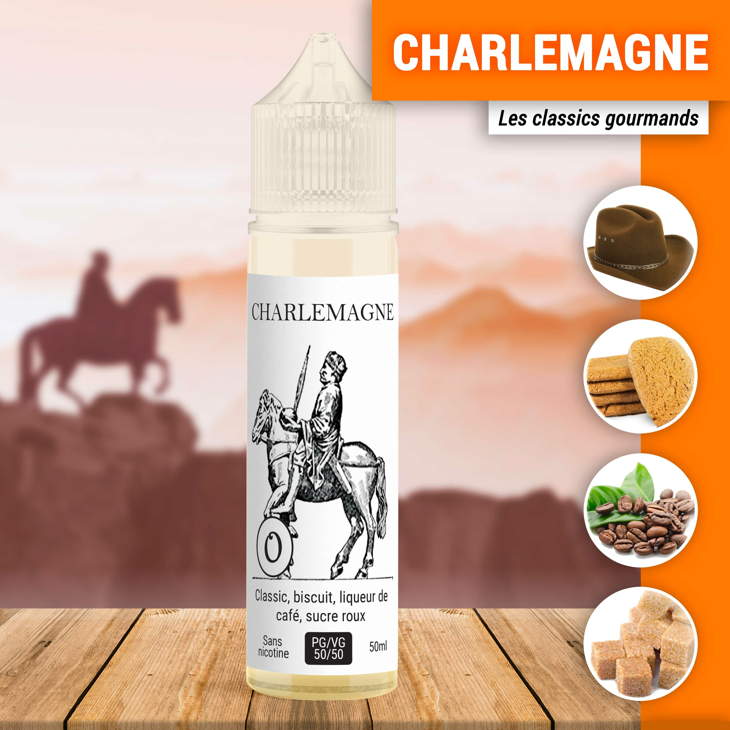 Charlemagne 50ml à booster