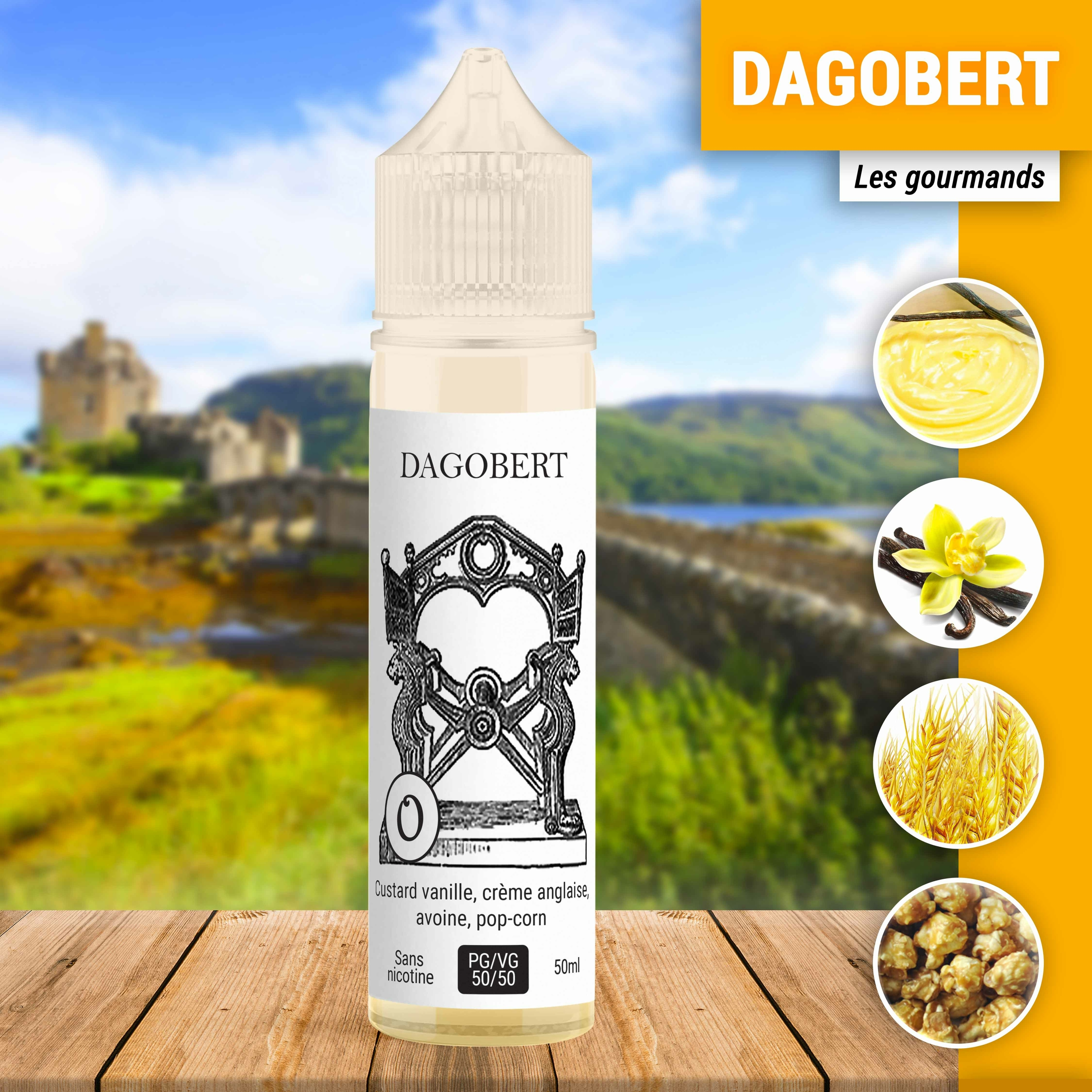 Dagobert 50ml à booster
