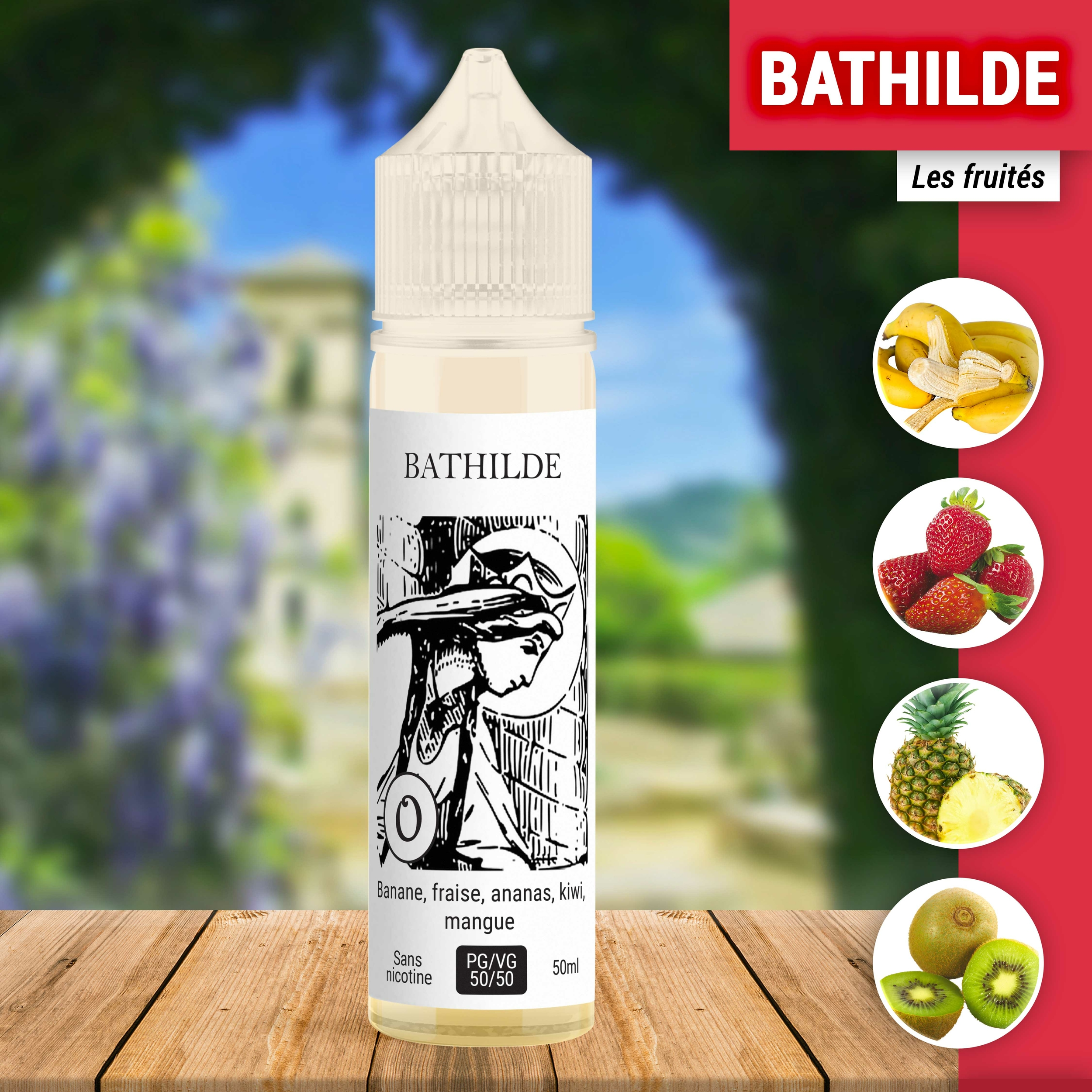 Bathilde 50ml à booster